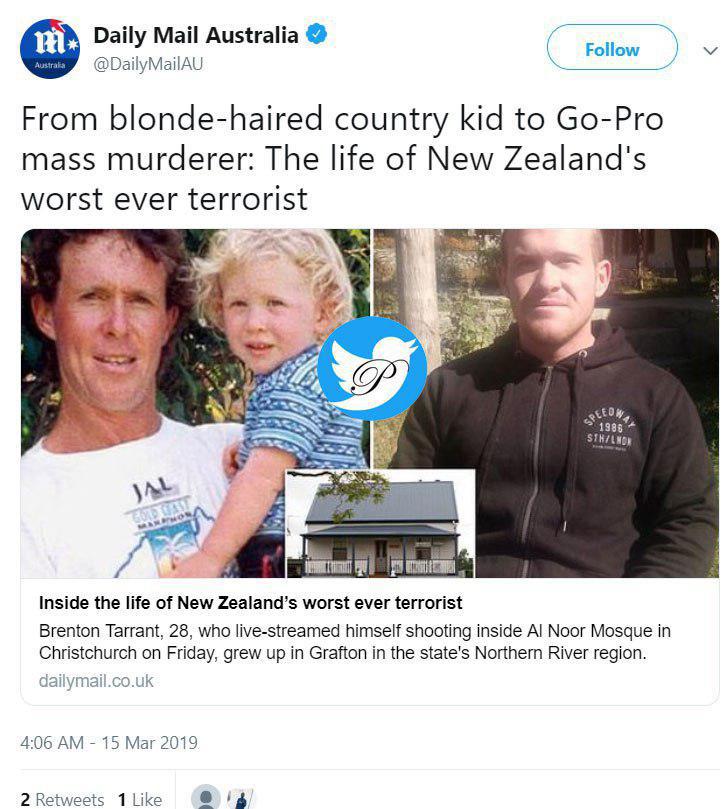 مخوفترین تروریست موبلوند استرالیایی در نیوزیلند را بهتر بشناسید