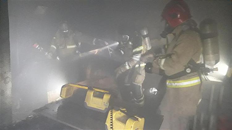 آتشسوزی در مرکز خرید1