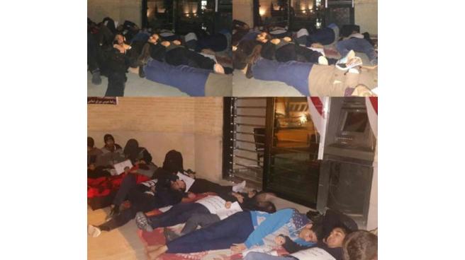 کارتن خوابی دانشجویان شیرازی در هوای سرد زمستان