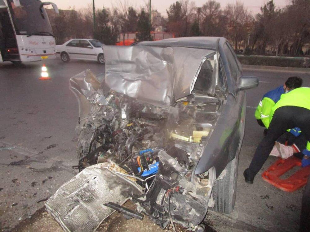تصادف در اصفهان