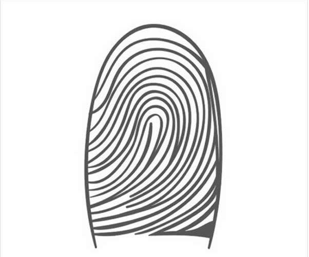 اثر انگشت نوع ۱