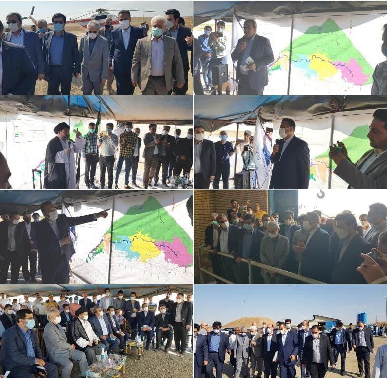 حضور معاون رئیس جمهور و رئیس سازمان برنامه و بودجه کشور در استان اردبیل