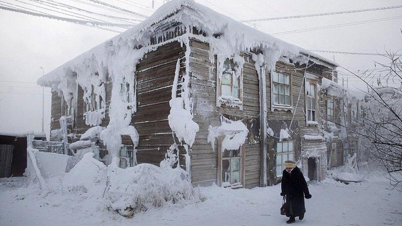 سردترین نقطه مسکونی جهان