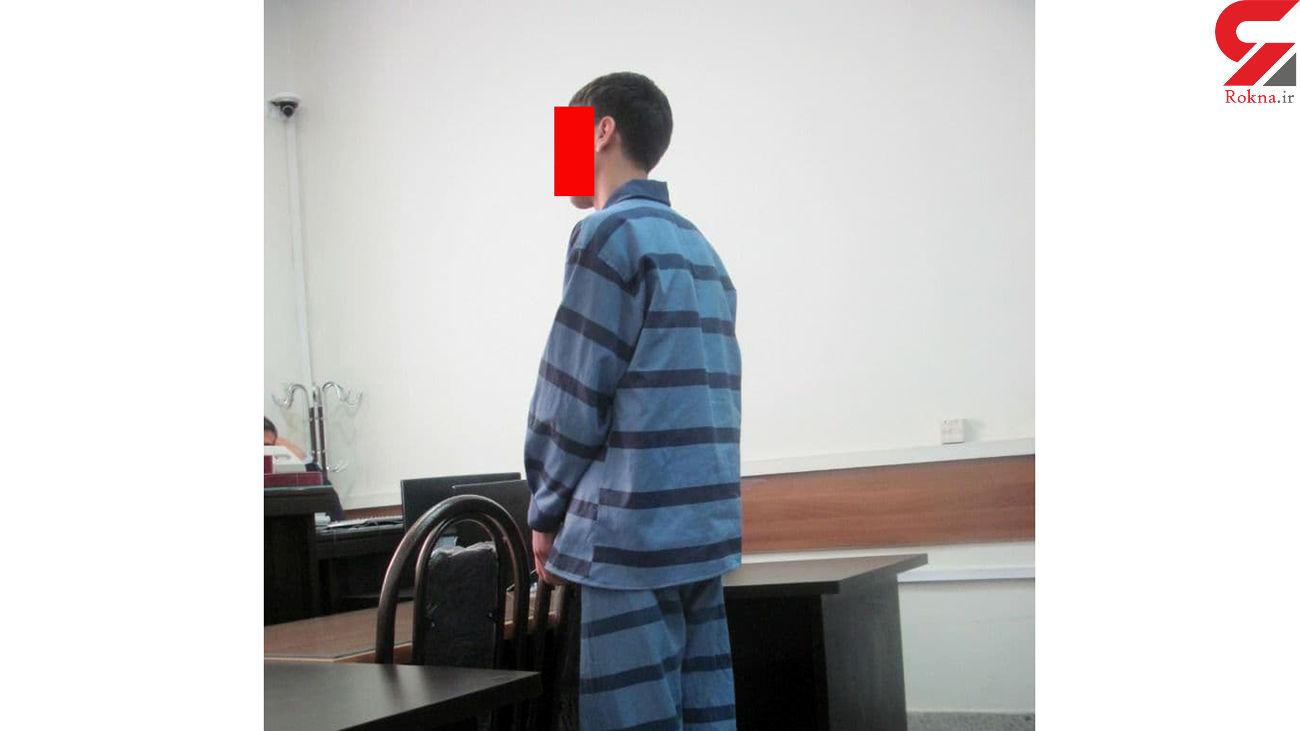 اعدام یک قاتل در زندان مرکزی مشهد / او شب تا صبح در بشکه قیر پنهان بود ! + عکس
