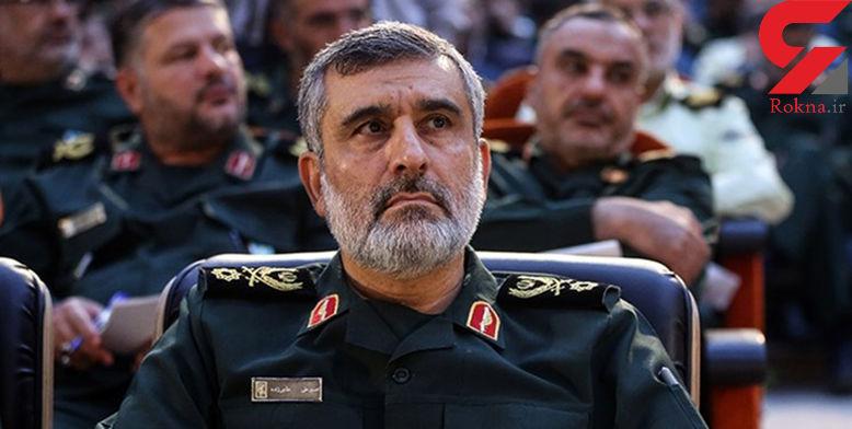 پاسخ سپاه به کوچک نمایی حمله موشکی ایران به پایگاه هوایی امریکا