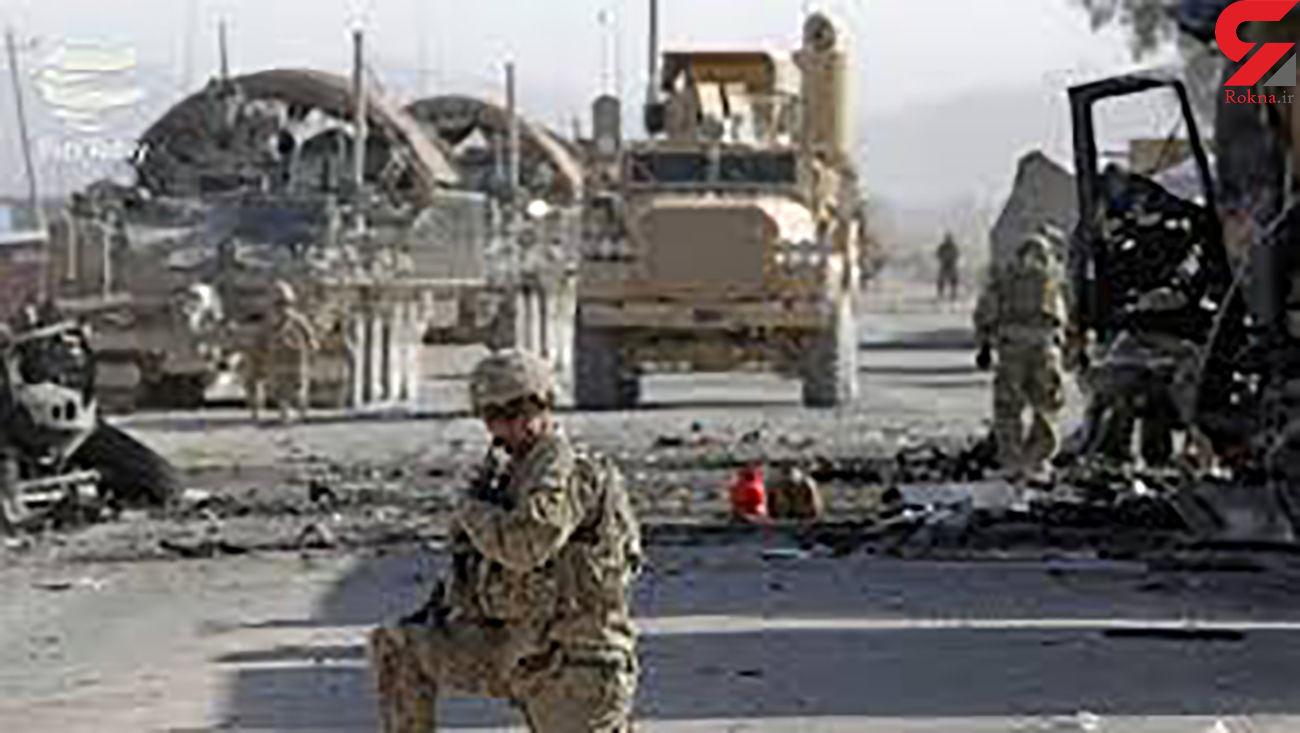 فوری / فیلم حمله به کاروان آمریکایی در مرکز عراق