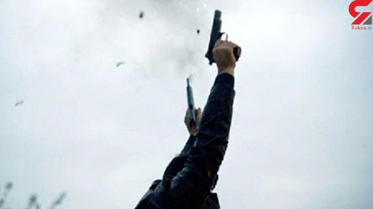 شلیک مستقیم مرد مسلح به پلیس ماهشهر / بازداشت مردان نقاب دار !