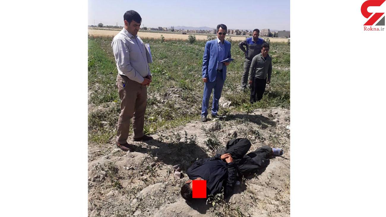 عکس های بازسازی شلیک مرگبار به جوانی در مشهد + جزئیات
