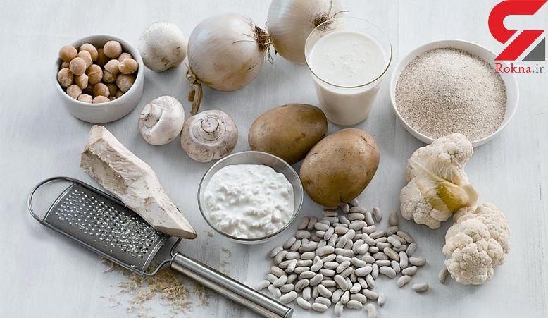خوراکی های سفید رنگ که ضامن سلامتی اند!