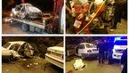 تصادف خونین با 6 کشته و مجروح در تونل جاده چالوس +تصاویر