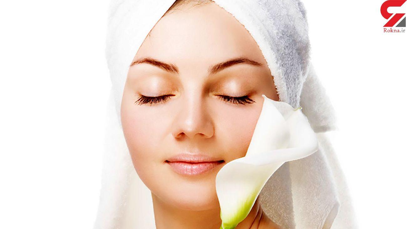 مخلوط های موثر در درمان افتادگی پوست
