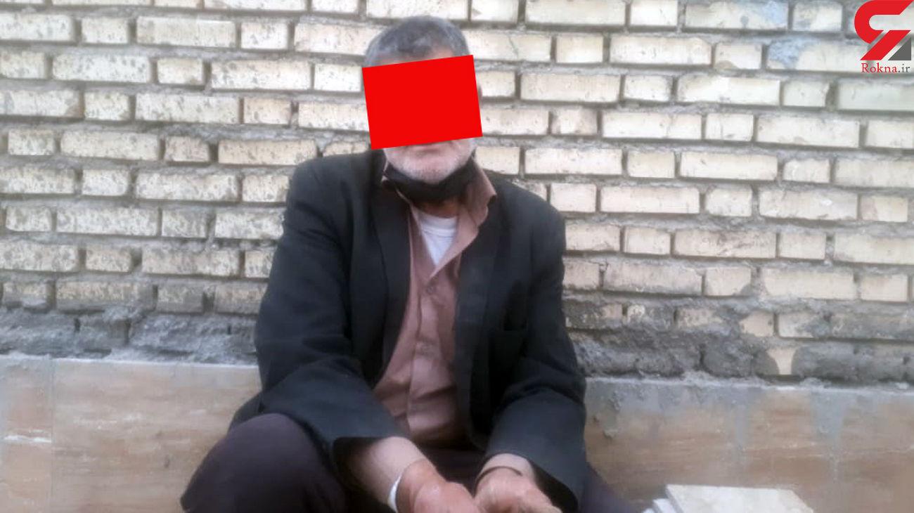 پیر دزدان آبادانی ها دستگیر شد / او به تازگی آزاد شده بود + عکس