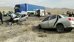 تصادف مرگبار یک لیفان با پژو در جاده سراب + عکس