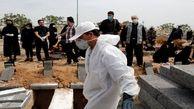 آرایش بحرانی بهشت زهرا (س) تهران در پی افزایش آمار فوتی های کرونا