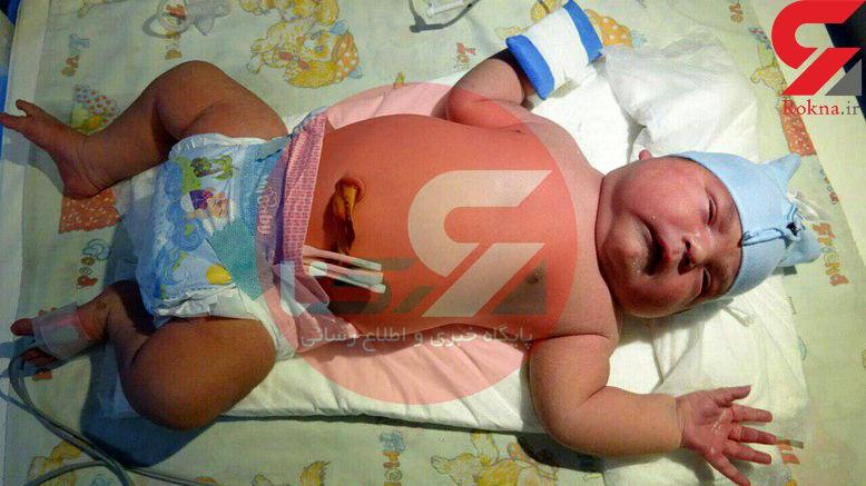 عکس / هرکول دختر در میاندوآب به دنیا آمد