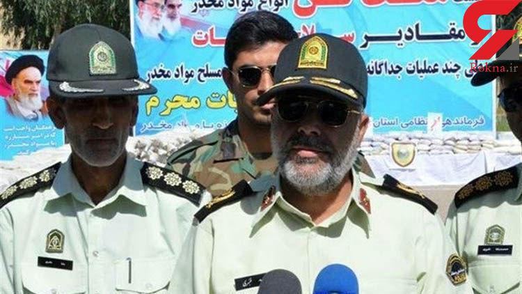 کشف 1 تن و 178 کیلوگرم مواد مخدر در ایرانشهر/ باند مسلحانه دستگیر شد