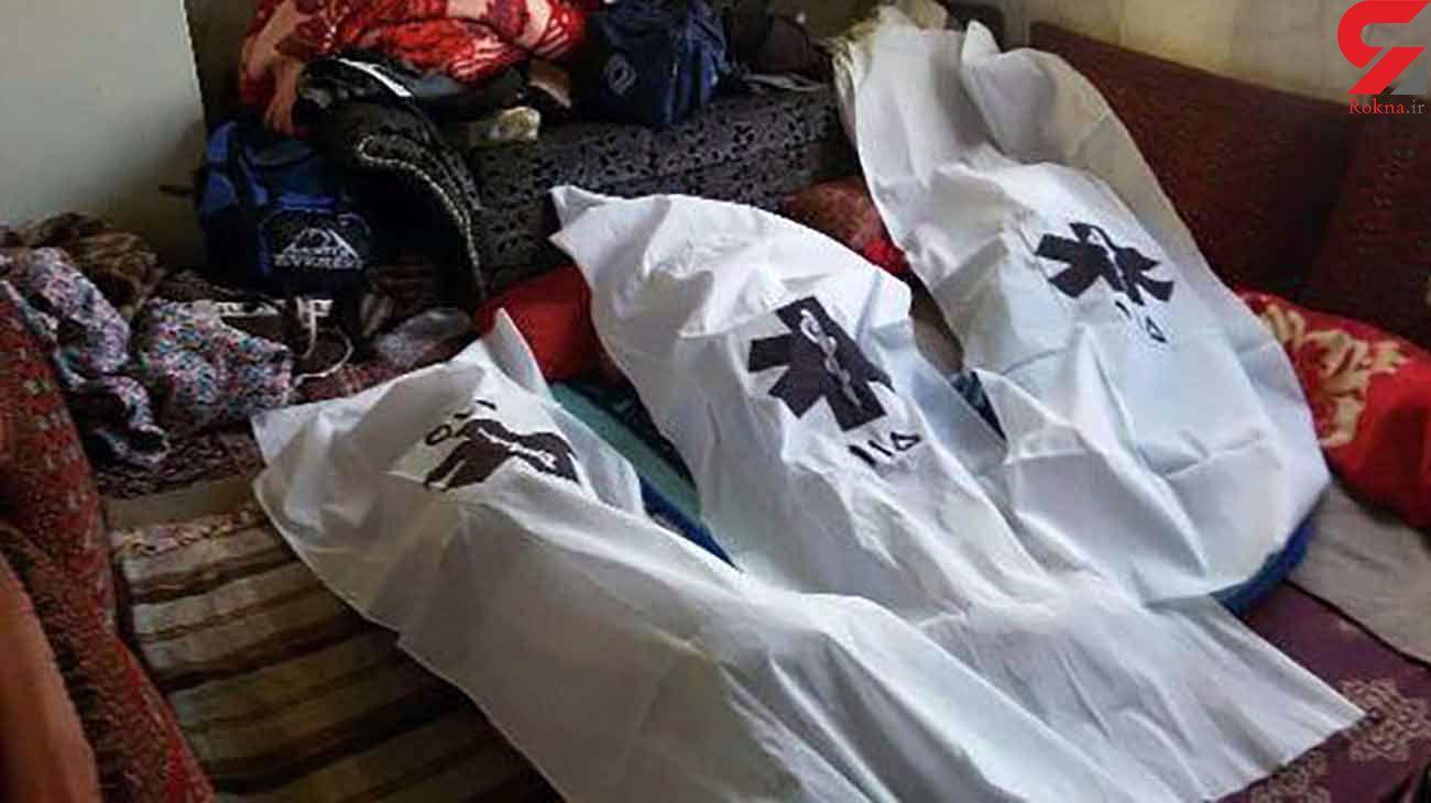 عکس ازصحنه مرگ مادر و دو کودک در سیرجان