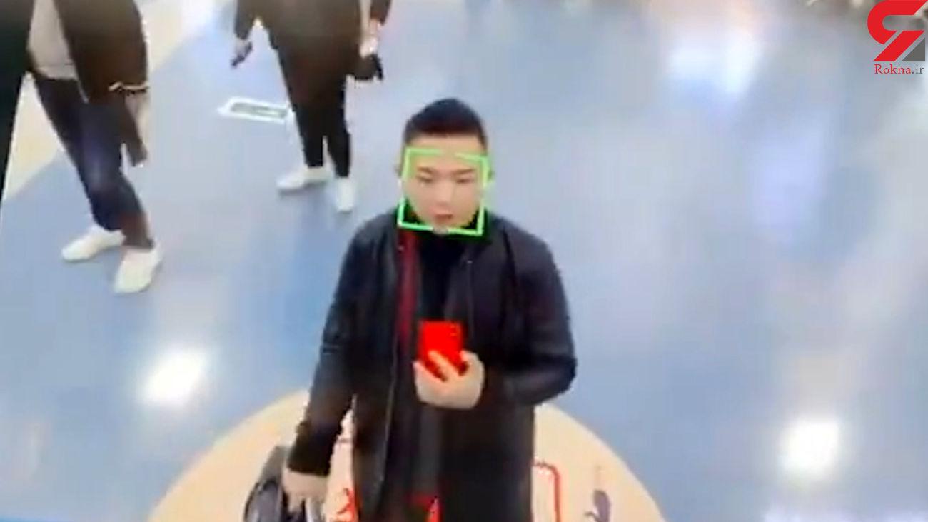 تشخیص چهره در فرودگاه چین + فیلم