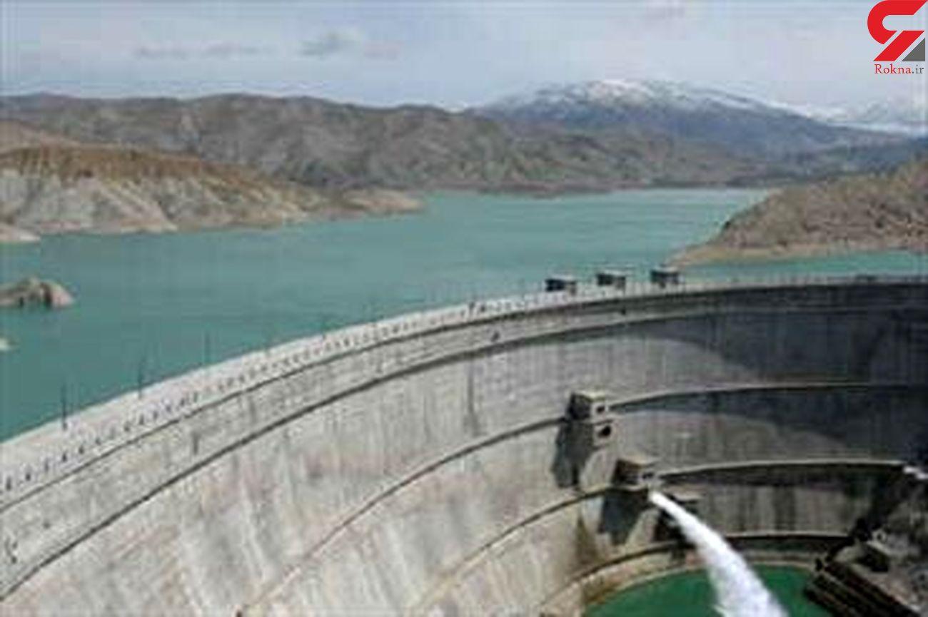 ۹۰ میلیون متر مکعب آب پشت سدهای لرستان ذخیره شده است  کاهش ۳۲ درصدی آب سدها در استان
