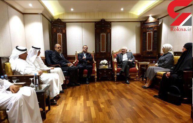 رایزنی ظریف با اعضای انجمن دوستی ایران و کویت