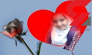 مرگ دردناک دختر دبستانی در تصادف/  اعضای بدن زهرا اهدا شد+عکس