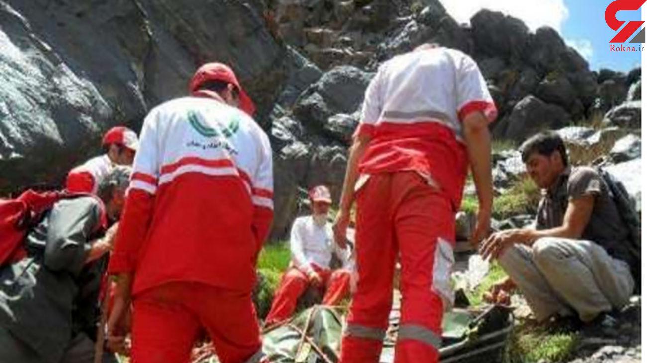 مرگ تلخ مرد شیرازی پس از سقوط از کوه