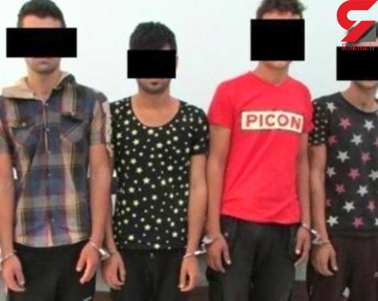 دستگیری باند 4 نفره تبهکاران حرفه ای در شیراز +عکس