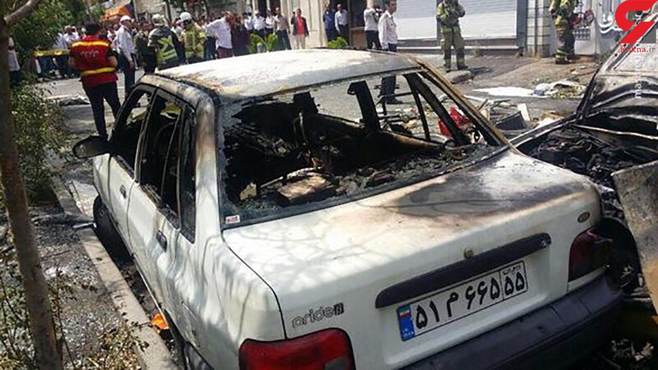 انفجار پاوربانک یک ماشین را جزغاله کرد / در نیشابور رخ داد