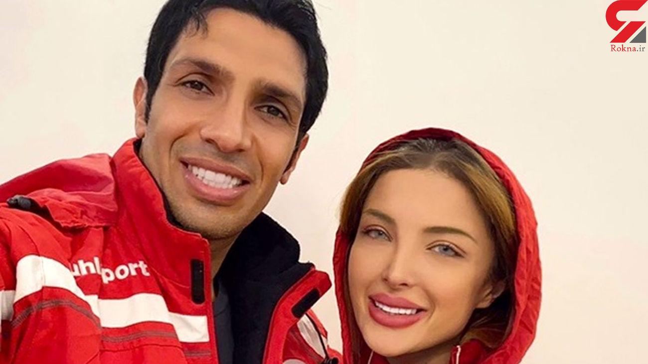 توهین همسر لاکچری سپهر حیدری به مخالفانش /  او قهرمان تکواندو است  + فیلم و عکس ها