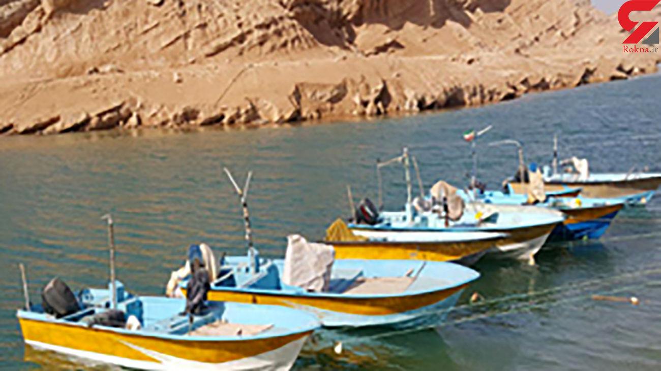 توقیف شناورهای صیادی در آبهای هرمزگان