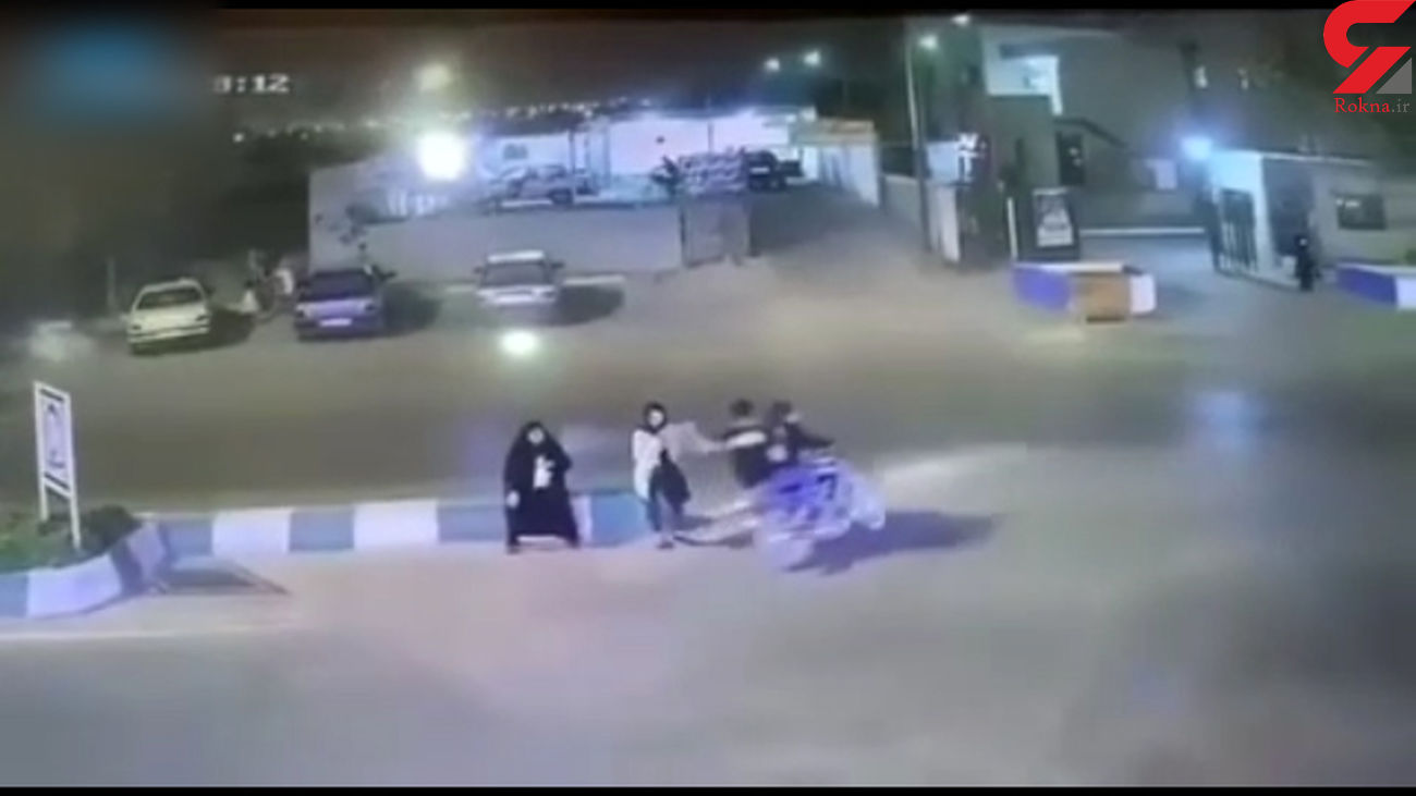 بلای هولناک سر دختر ماهشهری در خیابان + فیلم