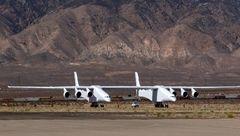 غول پیکرترین هواپیمای جهان به پرواز درآمد