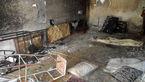 انفجار مهیب گاز در نهاوند + تصاویر