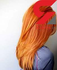رنگ موی هویجی؛ مد سال 2017 +تصاویر