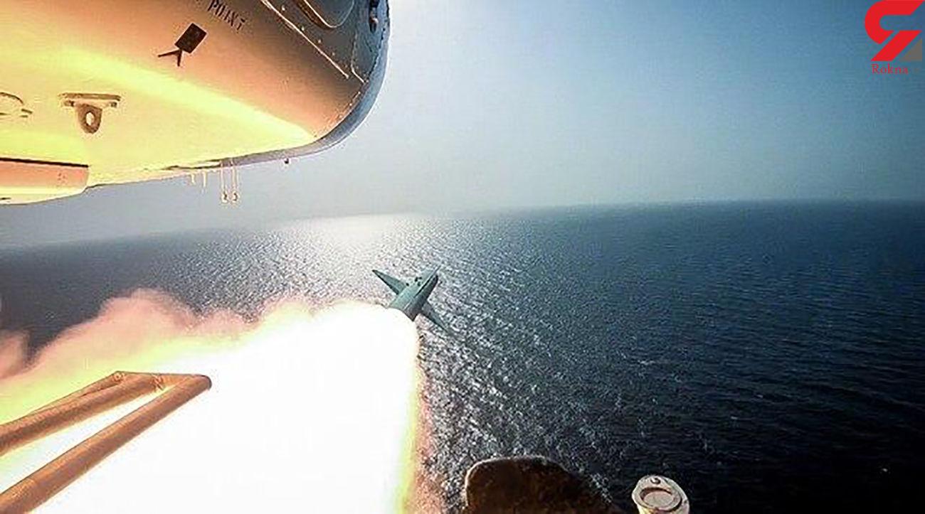 تمرین جنگ ترکیبی نیروی هوافضا و نیروی دریایی در آب های خلیج فارس