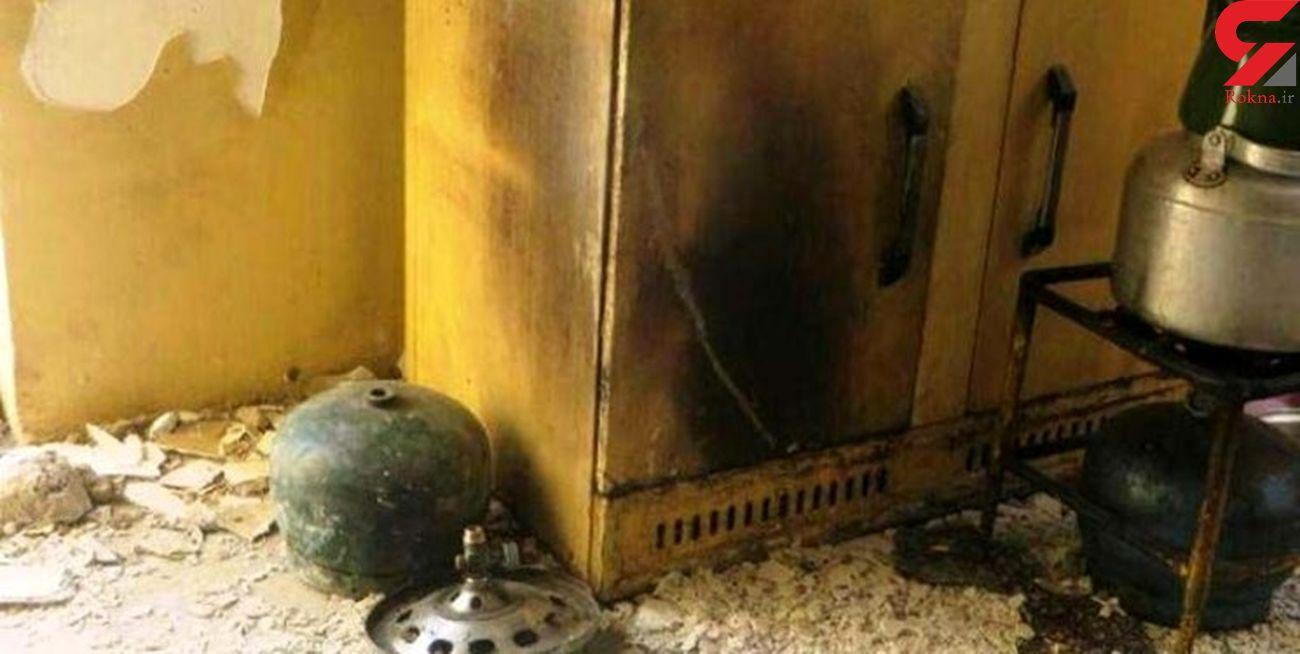 9 شاهین شهری در انفجار گاز سوختند