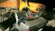 5 کشته و مجروح در تصادف خونین پژو با کامیون در ورامین