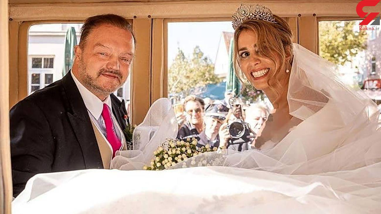 عکس عروسی دختر ایرانی با شاهزاده آلمانی ! / مهکامه نوابی کیست؟!