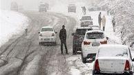 فیلم / آخرین وضعیت بزرگراه قزوین - زنجان پس از بارش شدید برف
