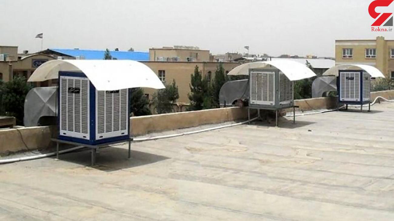 سارق کولرهای آبی در کرمانشاه به دام پلیس افتاد