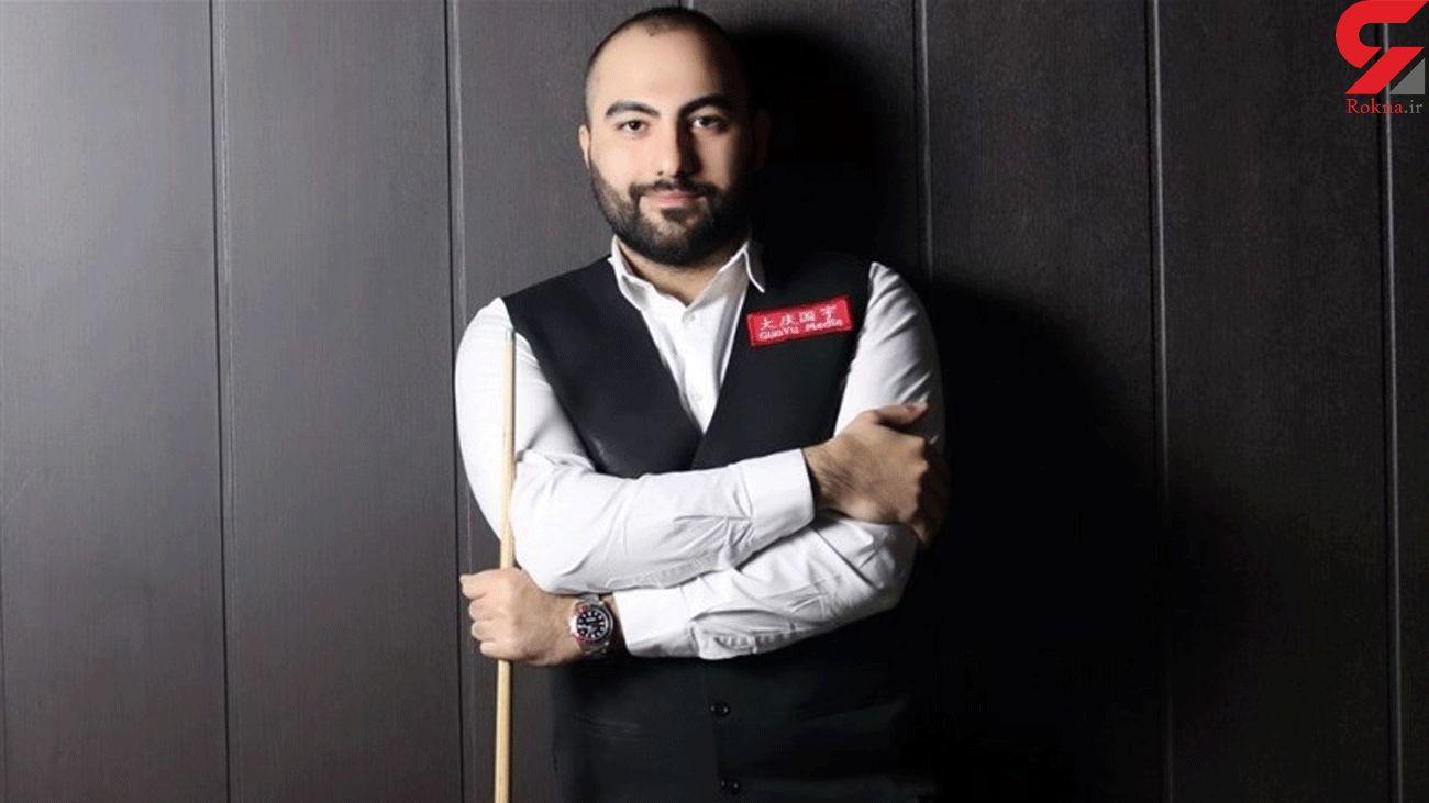 Iran's Vafaei Earns Second Win at Welsh Open Snooker