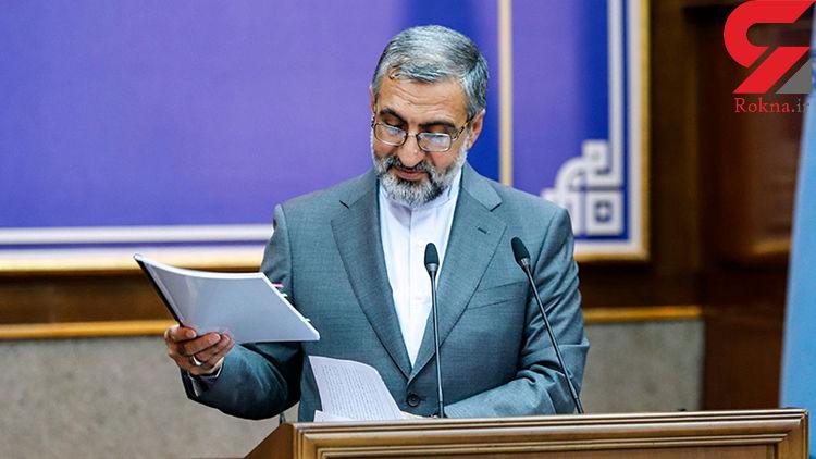 سخنگوی قوه قضائیه: فرماندار شهر قدس بازداشت نشده است + فیلم