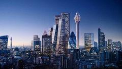 پروژه برج گل لاله لندن  متوقف شد + عکس