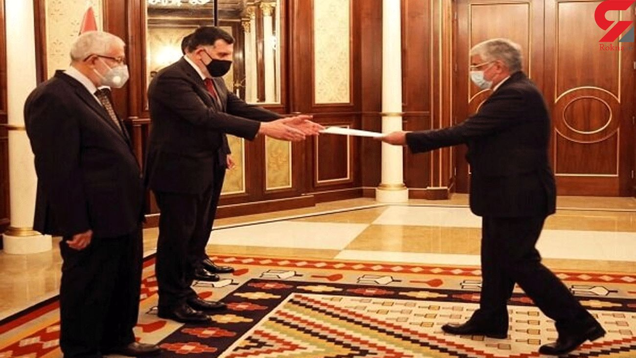 Iran's envoy submits credential to Libyan Pres. Council Chair
