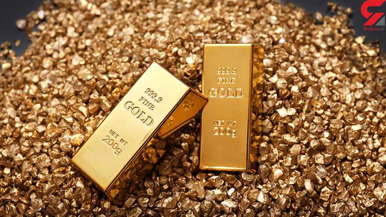 قیمت جهانی طلا امروز سه شنبه 31 تیر ماه