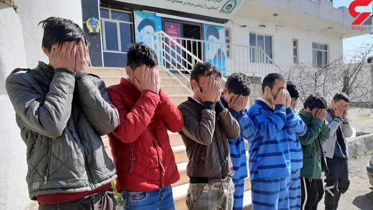 ماجرای دستگیری 8 نفر در شوشتر چه بود؟ باز هم رسانه های معاند جنجال کردند