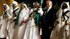 رقص شمشیر ترامپ در ضیافت سعودیها + عکس و فیلم