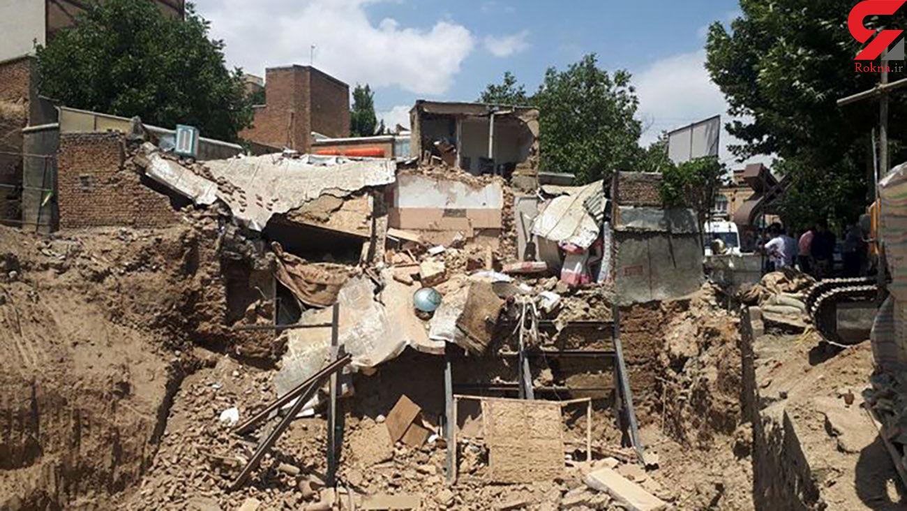 زنده زنده دفن شدن زن سنندجی در آوار یک خانه