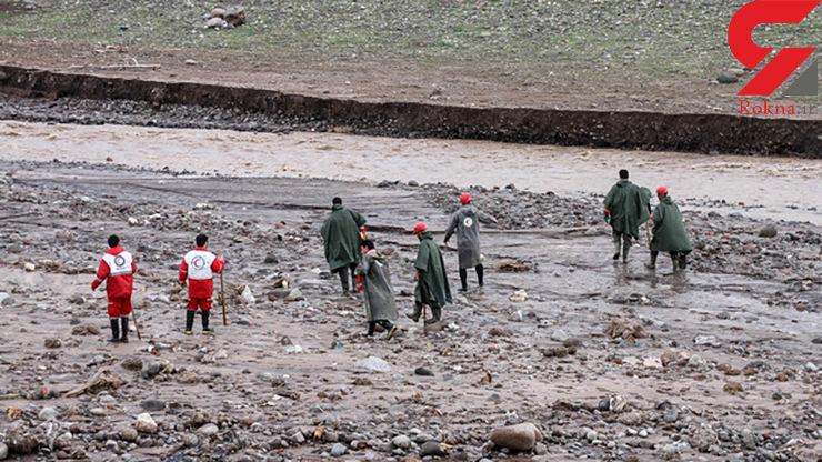 پیکرهای دو نفر دیگر از مفقودان سیل در آذرشهر پیدا شد