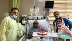 جشن تولد آقای کارگردان ایرانی در آیسییو بیمارستان! +عکس